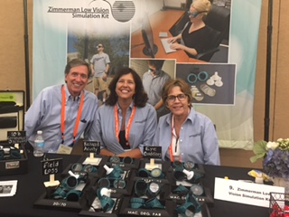 George, Sandy, and Maureen at the LVSK Booth